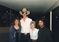 Picture of Tom Cole & Andy Ferraz with Jan and Myrna